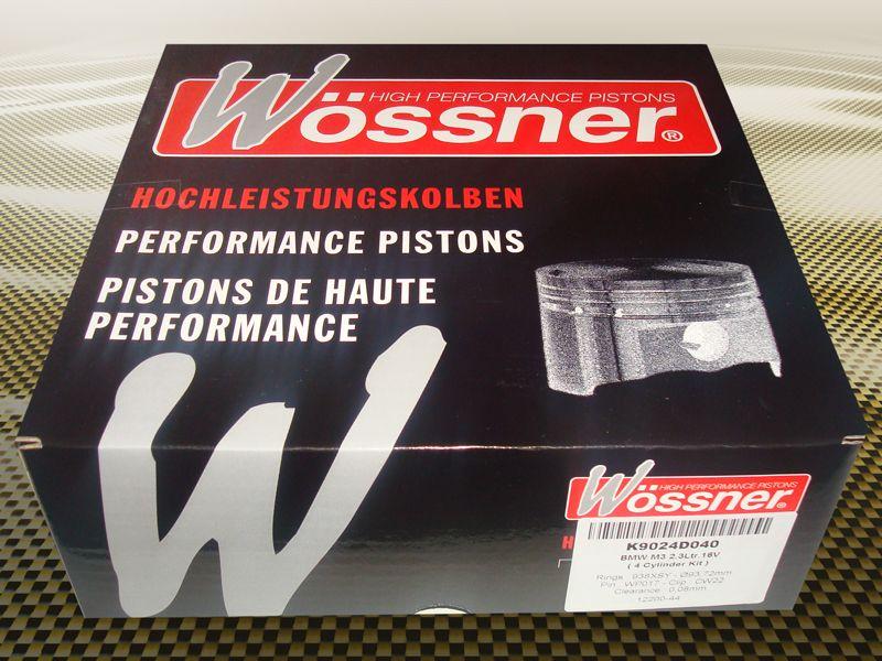 Kované písty Woessner