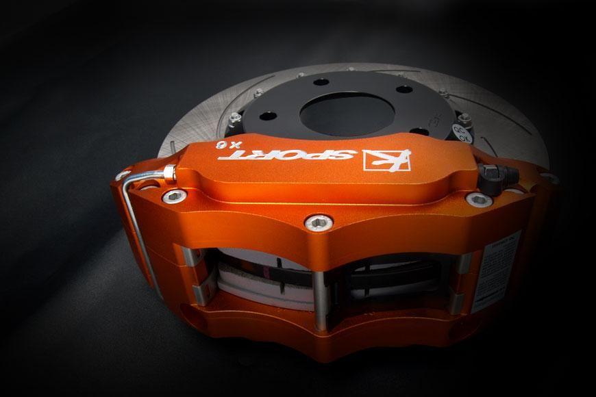 Brzdový kit K-Sport pro zadní nápravu