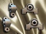 Uložení Předních ramen Uniball Lancia Delta HF Integrale (sada 4 ks)