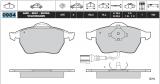 Sportovní brzdové destičky Škoda Octavia 2.0 turbo 20v Audi A3 turbo 20v ETF