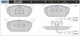 Sportovní brzdové destičky Škoda Octavia TSI TDI III, VW Golf TSI TDI VII, Seat Leon TSI TDI ETF
